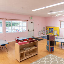 Pine Tree Montessori Daycare Room