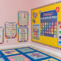 Pine Tree Montessori Daycare Reading Area