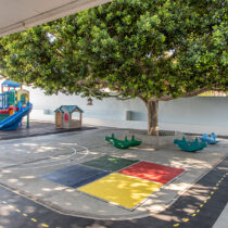 Pine Tree Montessori Daycare Play Area
