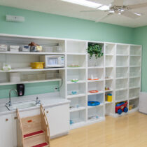 Pine Tree Montessori Daycare Classroom – Practical Area